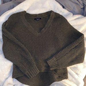 💚Green sweater
